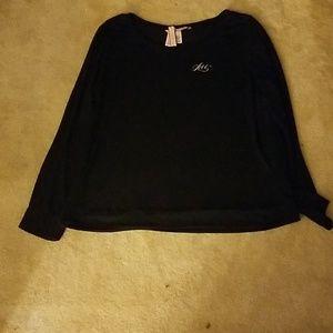 "VS "" Love"" Sweater blend long sleeve tee shirt"